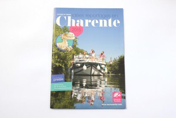 Charente Tourisme - Dossier de presse 2015